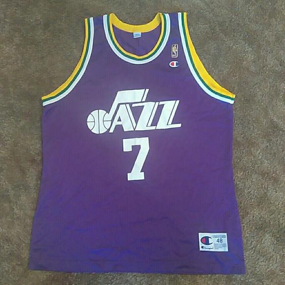 5d024cc75 Champion Other - Utah Jazz ( Pistol Pete Maravich  7 )